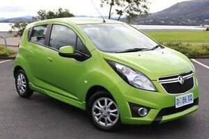 2014 Holden Barina Spark MJ MY14 CD Green 4 Speed Automatic Hatchback Derwent Park Glenorchy Area Preview