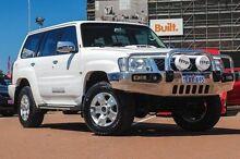 2011 Nissan Patrol GU 7 MY10 ST White 5 Speed Manual Wagon Fremantle Fremantle Area Preview