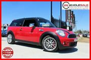 2008 Mini Clubman R55 John Cooper Works Wagon 3dr Man 6sp 1.6T [Mar] Chilli Red Manual Wagon Minchinbury Blacktown Area Preview