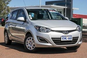 2014 Hyundai i20 PB MY14 Active Silver 4 Speed Automatic Hatchback East Rockingham Rockingham Area Preview