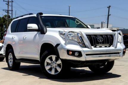 2013 Toyota Landcruiser Prado KDJ150R MY14 GXL White 5 Speed Sports Automatic Wagon Liverpool Liverpool Area Preview
