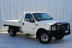 2004 Ford F250 RN XL White 6 Speed Manual Cab Chassis Embleton Bayswater Area Preview