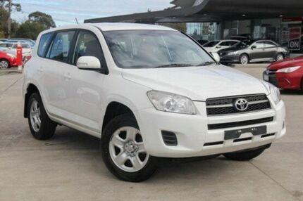 2012 Toyota RAV4 White Automatic Wagon