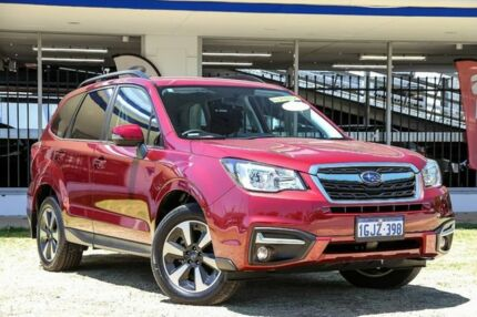 2017 Subaru Forester S4 MY18 2.5i-L CVT AWD Red 6 Speed Constant Variable Wagon Victoria Park Victoria Park Area Preview