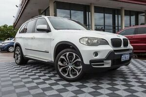 2009 BMW X5 E70 MY09 xDrive30d Steptronic White 6 Speed Sports Automatic Wagon Alfred Cove Melville Area Preview