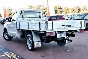 2011 Toyota Hilux TGN16R MY10 Workmate White 5 Speed Manual Cab Chassis Wangara Wanneroo Area Preview