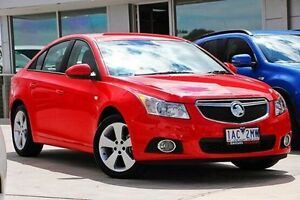 2013 Holden Cruze JH Series II MY14 Equipe Red 6 Speed Sports Automatic Sedan Nunawading Whitehorse Area Preview