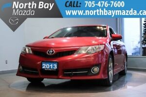 2013 Toyota Camry Navigation + Sunroof + Power Driver Seat