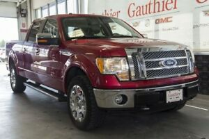 2010 Ford F-150 Lariat Crew 4x4, Sunroof, Leather