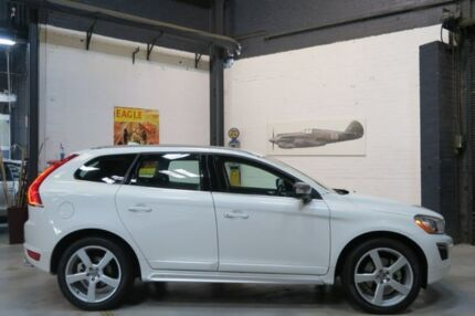 2013 Volvo XC60 DZ MY13 D5 Geartronic AWD R-Design White 6 Speed Sports Automatic Wagon Port Melbourne Port Phillip Preview
