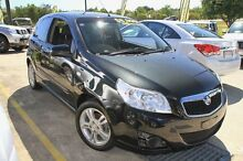 2010 Holden Barina TK MY10 Black 5 Speed Manual Hatchback Buderim Maroochydore Area Preview