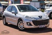 2011 Peugeot 207 A7 Series II MY10 Sportium Silver 4 Speed Sports Automatic Hatchback Mindarie Wanneroo Area Preview