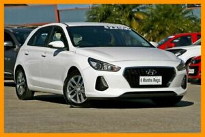 2018 Hyundai i30 PD2 MY18 Active White 6 Speed Sports Automatic Hatchback Hillcrest Logan Area Preview