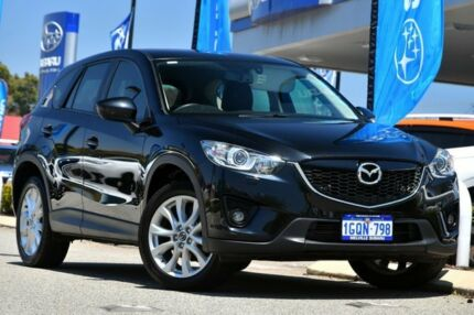 2013 Mazda CX-5 KE1021 MY13 Grand Touring SKYACTIV-Drive AWD Black 6 Speed Sports Automatic Wagon Willagee Melville Area Preview
