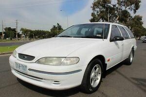 1996 Ford Fairmont White Automatic Wagon