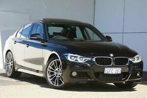 2016 BMW 320i F30 LCI M Sport Black 8 Speed Sports Automatic Sedan Wangara Wanneroo Area Preview