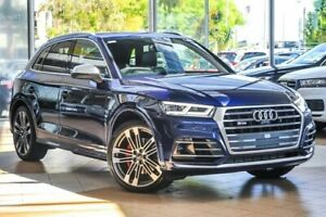 2017 Audi SQ5 FY MY17 Tiptronic Quattro Blue 8 Speed Sports Automatic Wagon Osborne Park Stirling Area Preview