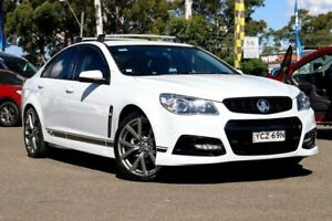 2015 Holden Commodore VF MY15 SV6 Lightning White 6 Speed Sports Automatic Sedan Condell Park Bankstown Area Preview