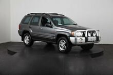 2003 Jeep Grand Cherokee WG Limited (4x4) Grey 5 Speed Automatic Wagon Mulgrave Hawkesbury Area Preview