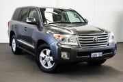 2014 Toyota Landcruiser VDJ200R MY13 Sahara Graphite 6 Speed Sports Automatic Wagon Myaree Melville Area Preview