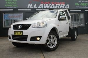 2012 Great Wall V200 K2 MY12 6 Speed Manual 2D CAB CHASSIS Barrack Heights Shellharbour Area Preview