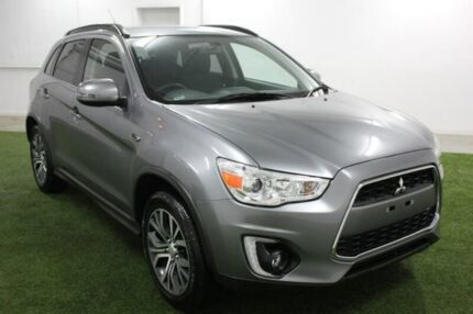 2016 Mitsubishi ASX XB MY15.5 LS 2WD Grey 6 Speed Constant Variable Wagon Hobart CBD Hobart City Preview