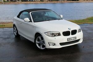2013 BMW 120I E88 LCI MY1112 Steptronic Alpine White 6 Speed Sports Automatic Convertible Hamilton East Newcastle Area Preview