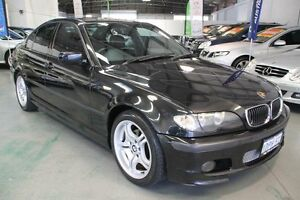 2004 BMW 318I E46 Sport Black 5 Speed Auto Steptronic Sedan Victoria Park Victoria Park Area Preview