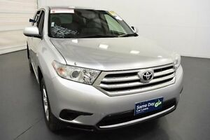 2012 Toyota Kluger GSU40R MY11 Upgrade KX-R (FWD) 5 Seat Silver Pearl 5 Speed Automatic Wagon Moorabbin Kingston Area Preview