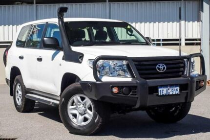 2014 Toyota Landcruiser VDJ200R MY13 GX (4x4) White 6 Speed Automatic Wagon Cannington Canning Area Preview