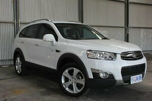 2012 Holden Captiva CG Series II 7 AWD LX White 6 Speed Sports Automatic Wagon Invermay Launceston Area Preview