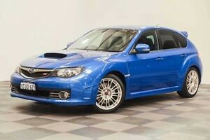 2008 Subaru Impreza G3 MY08 WRX AWD STi Blue 6 Speed Manual Hatchback Edgewater Joondalup Area Preview