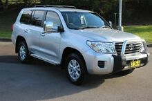 2013 Toyota Landcruiser VDJ200R MY13 GXL (4x4) Silver 6 Speed Automatic Wagon South Maitland Maitland Area Preview