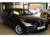 2009 59 BMW 5 SERIES 2.0 520D M SPORT 4D 175 BHP DIESEL