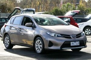 2013 Toyota Corolla ZRE182R Ascent S-CVT Grey 7 Speed Constant Variable Hatchback Ringwood East Maroondah Area Preview