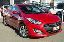 2014 Hyundai i30 GD2 Active Brilliant Red 6 Speed Sports Automatic Hatchback Cleveland Redland Area Preview