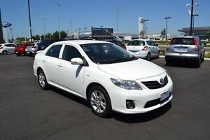 2012 Toyota Corolla ZRE152R Ascent Sport White Automatic Strathmore Heights Moonee Valley Preview