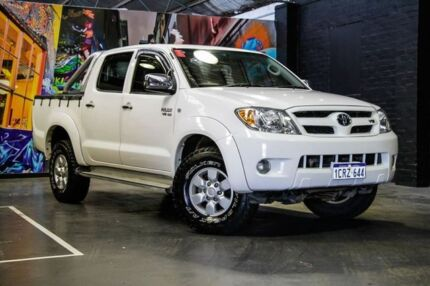 2007 Toyota Hilux GGN15R MY07 SR5 White 5 Speed Automatic Utility