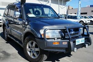 2004 Mitsubishi Pajero NP MY04 Exceed Blue 5 Speed Sports Automatic Wagon Pearce Woden Valley Preview