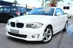 2011 BMW 120I E82 MY12 White 6 Speed Automatic Coupe Hamilton Newcastle Area Preview