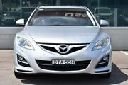 2011 Mazda 6 GH1052 MY10 Luxury Sports Silver 5 Speed Sports Automatic Hatchback Cardiff Lake Macquarie Area Preview