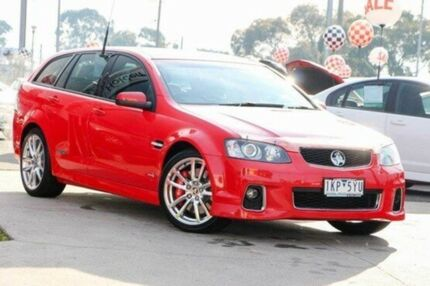 2012 Holden Commodore Red Sports Automatic Wagon