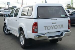 2011 Toyota Hilux KUN26R MY12 SR5 Double Cab Glacier White 5 Speed Manual Utility Acacia Ridge Brisbane South West Preview