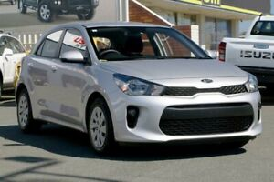 2018 Kia Rio YB MY19 S Silky Silver 4 Speed Sports Automatic Hatchback Cleveland Redland Area Preview