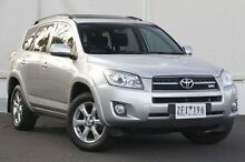 2012 Toyota RAV4 GSA33R MY12 SX6 Silver Pearl 5 Speed Automatic Wagon Upper Ferntree Gully Knox Area Preview
