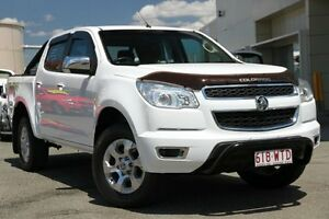 2014 Holden Colorado RG MY14 LTZ Crew Cab White 6 Speed Manual Utility Springwood Logan Area Preview