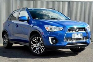 2015 Mitsubishi ASX Blue Constant Variable Wagon Heidelberg Heights Banyule Area Preview