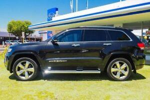 2013 Jeep Grand Cherokee WK MY2014 Overland Black 8 Speed Sports Automatic Wagon