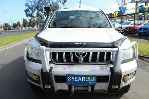 2004 Toyota Landcruiser Prado KZJ120R VX White 4 Speed Automatic Wagon