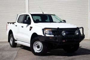 2013 Ford Ranger PX XL Double Cab White 6 Speed Sports Automatic Utility
